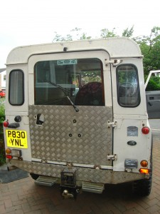 Backside - chequer-plate baby