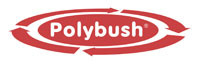 Polybush red logo