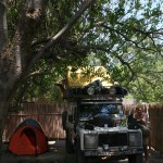 Campsite in Maun and a day of rest
